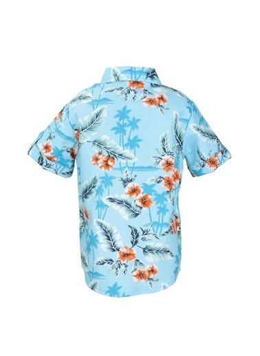 Mininio Oranj Hawaii Gömlek (9ay-4yaş) Oranj Hawaii Gömlek (9ay-4yaş) Oranj